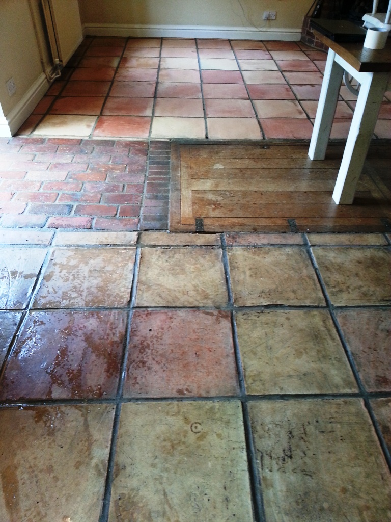 Terracotta Ringmer During Cleaning
