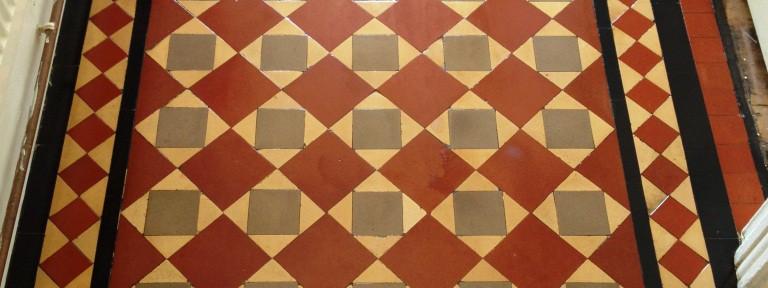 Restoring a Victorian Tiled Hallway in Brighton