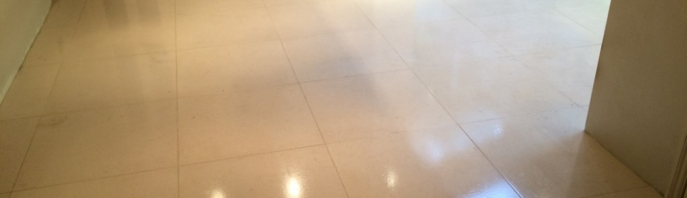Maintaining a Limestone Kitchen floor in Hastings