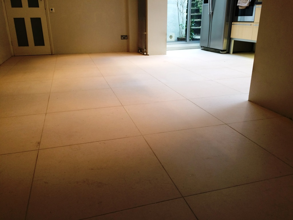Limestone Kitchen Floor Maintaining A Limestone Kitchen Floor In Hastings East Sussex