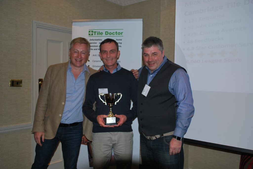Mick Conlon 2016 Tile Doctor of The Year Award Winner