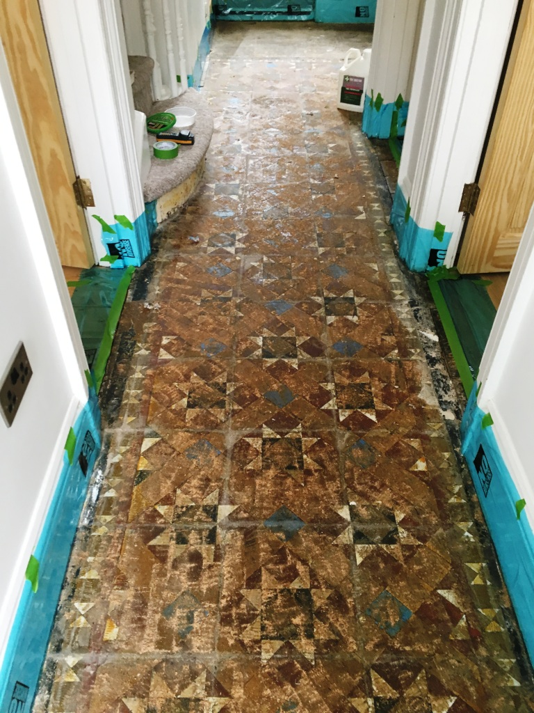 Brighton tile cleaning cleaning and maintenance advice for victorian tiled hallway floor before restoration hove doublecrazyfo Gallery